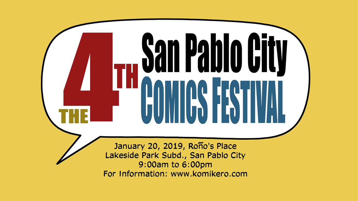 The Fourth San Pablo City Comics Festival INFO