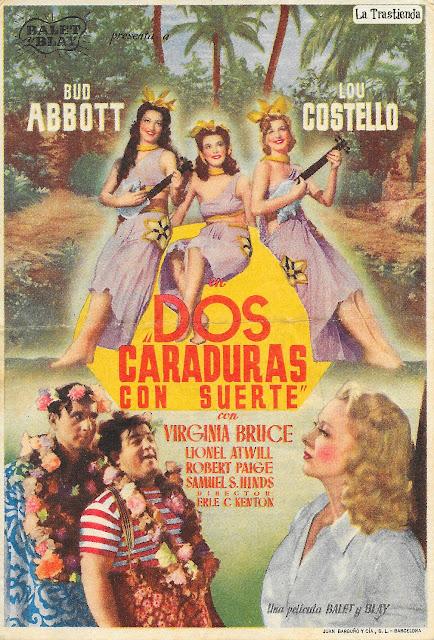 Dos Caraduras con Suerte - Programa de Cine - Bud Abbott - Lou Costello