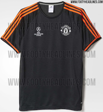ff8a725cea3 Adidas Manchester United 15-16 Champions League Training Shirts ...