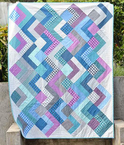 Dapper Squares Quilt Free Tutorial