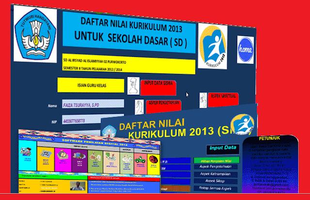 Aplikasi Raport Otomatis Kurikulum 2013 dan KTSP SD/MI, SMP/MTs, SMA/MA