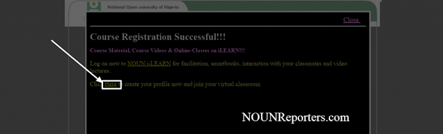 To Create your Profile and Join Virtual Classroom on NOUNiLearn After Course Registration