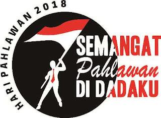 Logo dan Pedoman Peringatan Hari Pahlawan Tahun  TEMA, LOGO DAN PEDOMAN PERINGATAN HARI PAHLAWAN TAHUN 2018