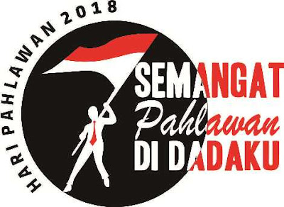 Logo dan Pedoman Peringatan Hari Pahlawan Tahun 2018
