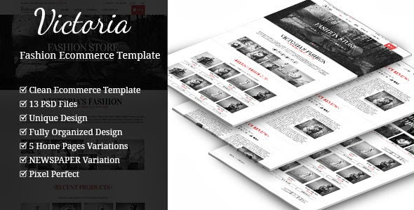download fashion website template