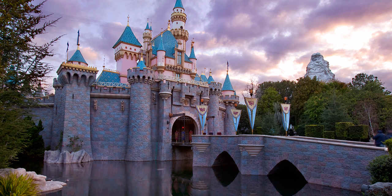 Sleeping Beauty Castle at Disneyland, California