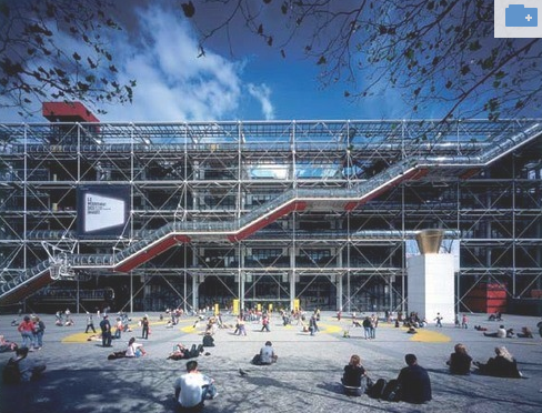 History Of Interior Design Ied2015 2016 High Tech Architecture Centre Pompidou