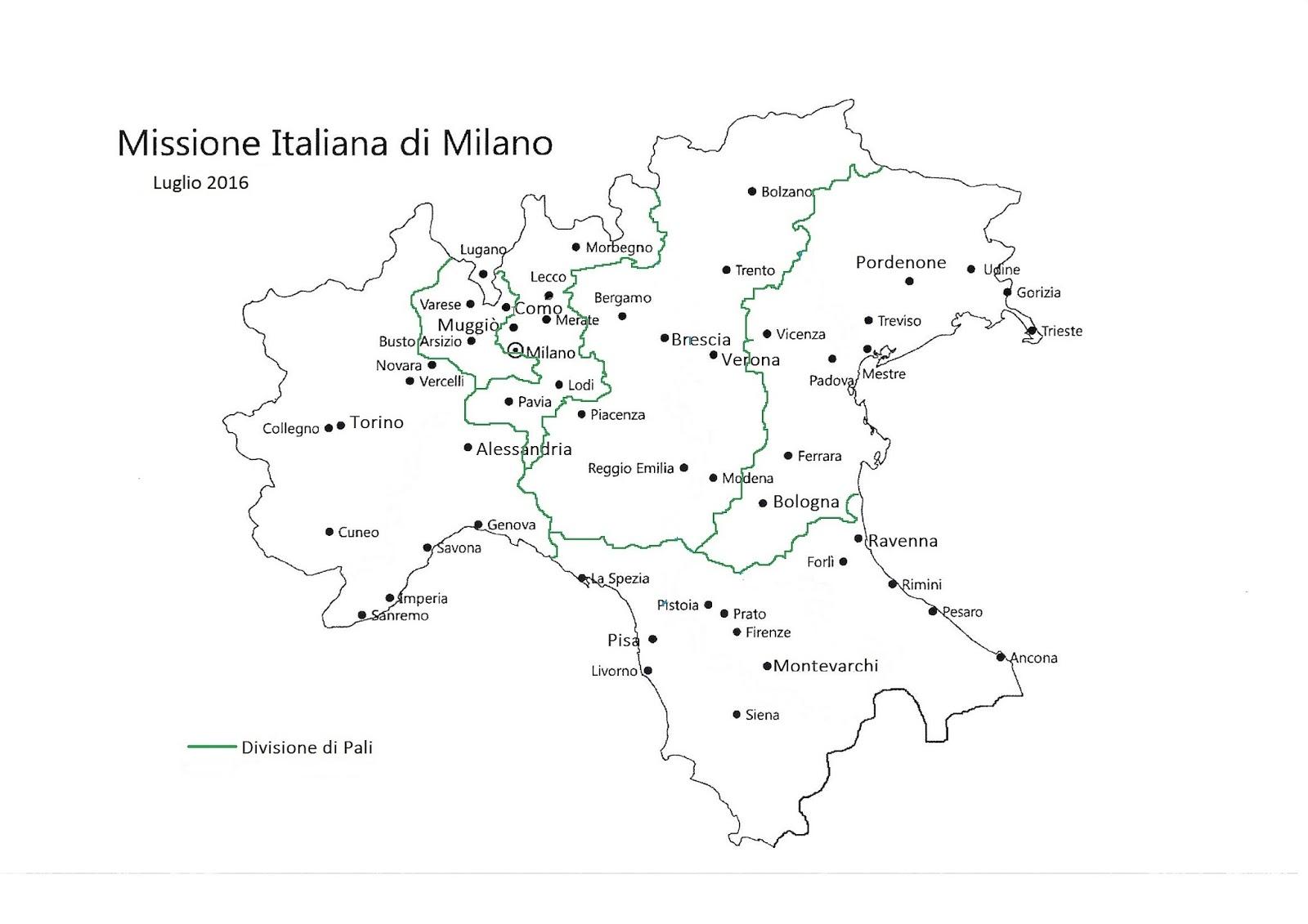 La Missione Italiana di Milano Mission Facts