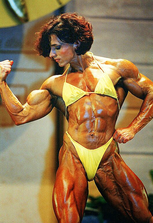 80 S Female Muscle Christa Bauch