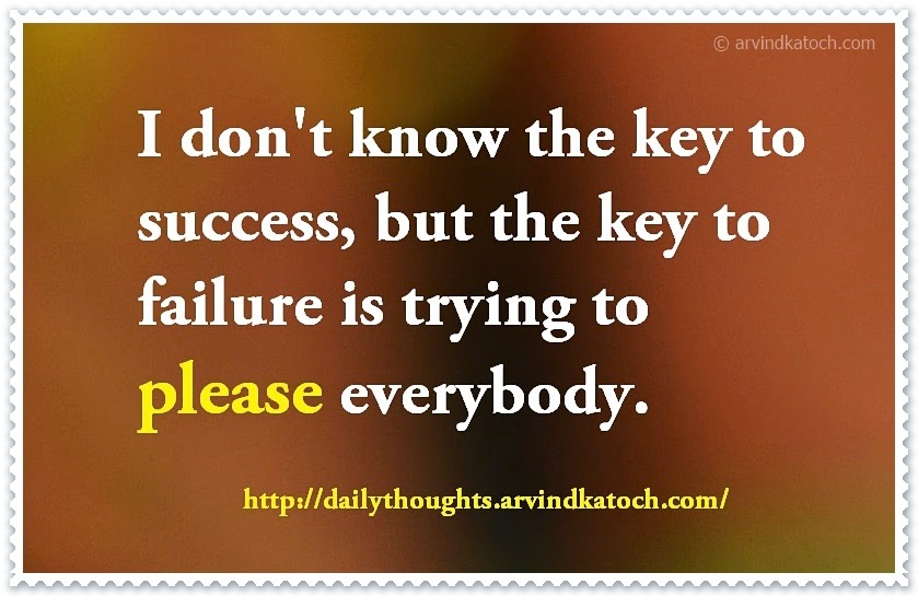 success, failure, key, quote, Thought, Daily Thought