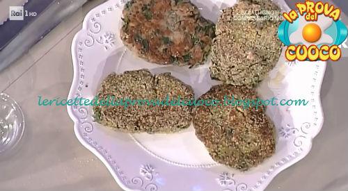 Cotoletta di arrosto e spinaci ricetta Moroni da Prova del Cuoco