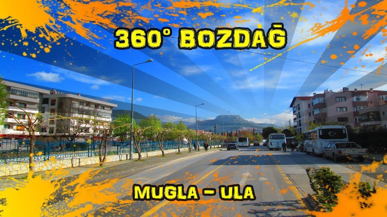 2019/04/16 360° Bozdağ (Muğla ~ Ula)