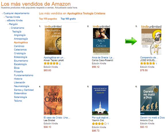 Compendio de Apologética Católica, Best Seller de Amazon México