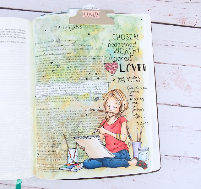 Heather's Hobbie Haven - Illustrated Faith - I Am Devotional Kit