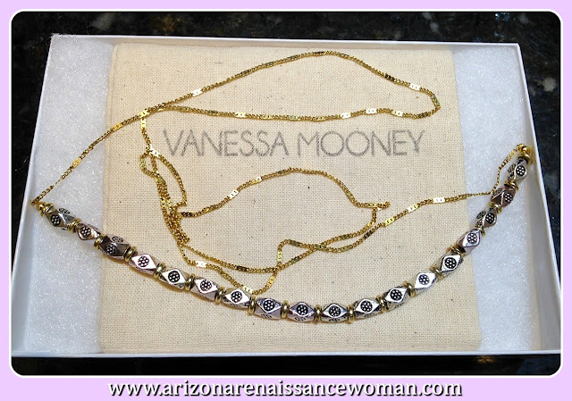 Vanessa Mooney The Runaway Nugget Bead Necklace - Stitch Fix Review September 2015