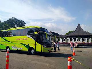 Paket Wisata Jogja, Bus Pariwisata