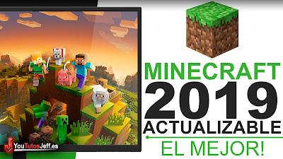 Como DESCARGAR MINECRAFT Ultima Versión 2019 Gratis Español - 32 y 64 Bits