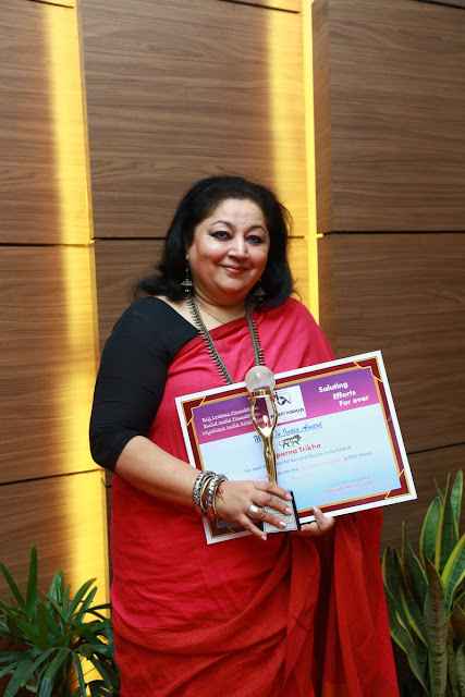 Beauty Expert Suparna Trikha has been honoured with the Award for entrepreneurship and outstanding expertise