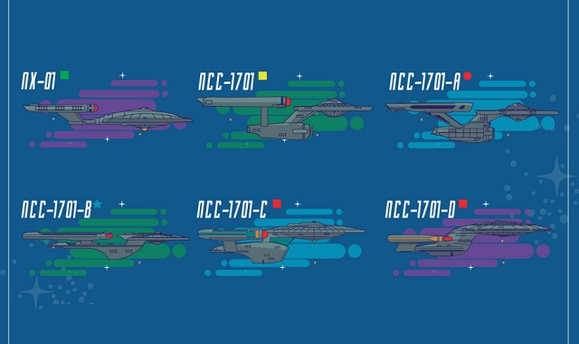 Federation Starships and Vehicles of Star Trek