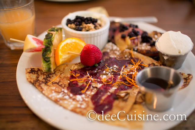 Brunch Sucre at Le Cartet in Montreal