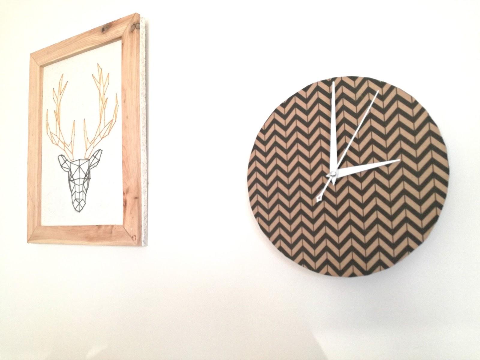 recycler un calendrier 2 horloge murale truc tricks. Black Bedroom Furniture Sets. Home Design Ideas