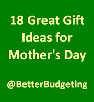 18 Great Gift Ideas for Mother's Day!