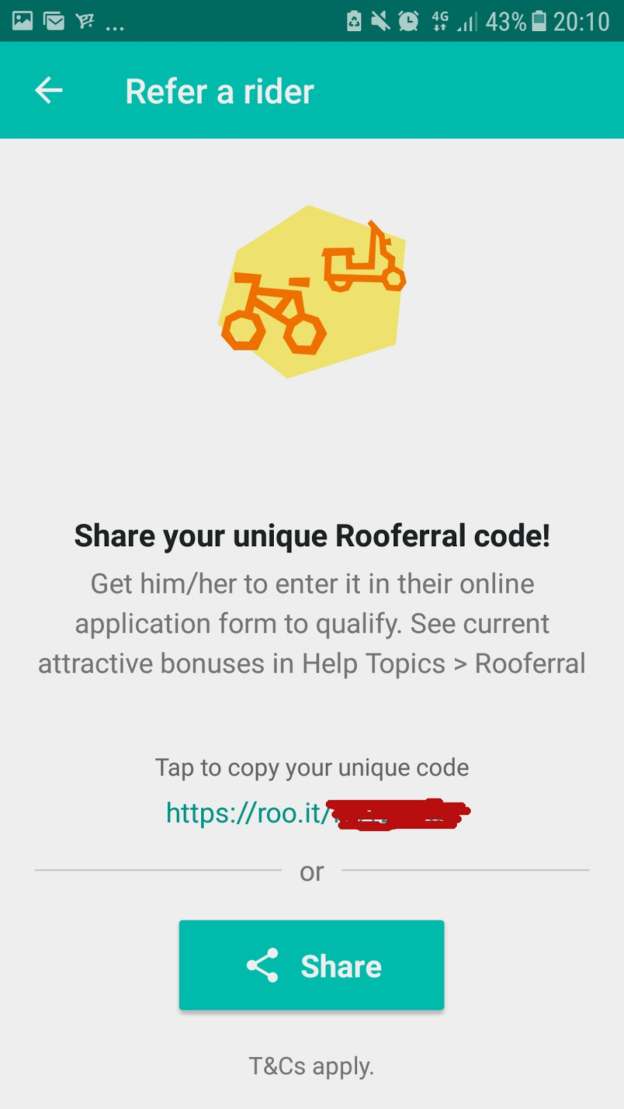 application rider deliveroo