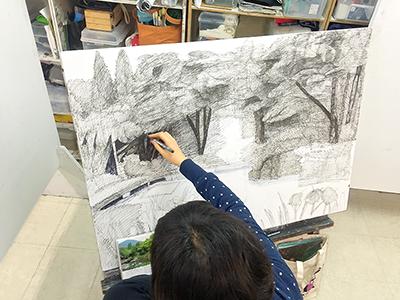 美術クラブ 横浜美術学院の中学生向け教室 ぜんぶ自分でつくる「自由制作」4