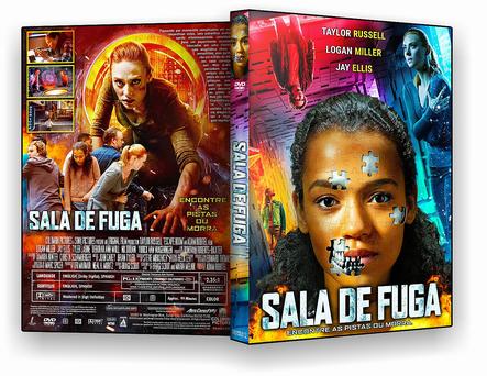 CAPA DVD – Sala de fuga – OFICIAL