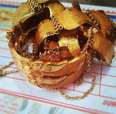 Model gelang emas terbaru