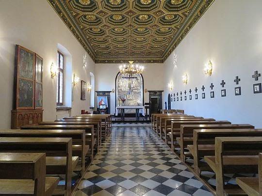 Kaplica Arcybiskupów Krakowskich.
