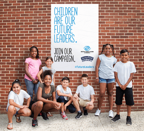 Stonyfield #FutureLeaders Campaign