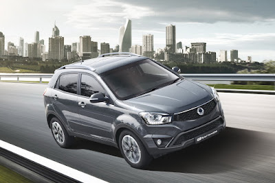 New 2017 SsangYong Korando C Grey colour