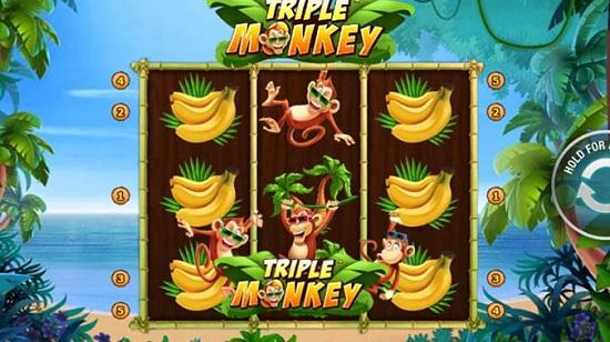 Triple Monkey – Game xèng được ưa chuộng