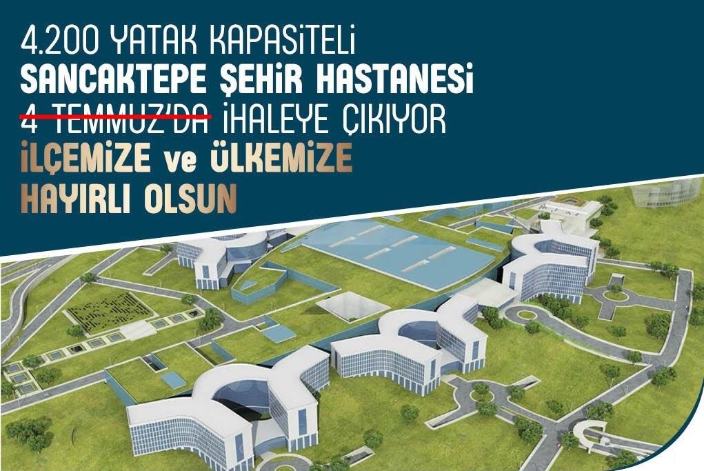 Bir erteleme hikayesi.. Şehir hastanesi projesi ihaleye açılıyor