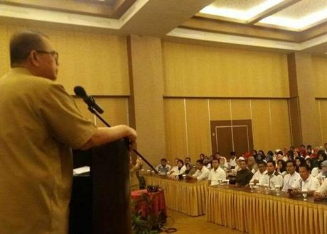 Buka Pelatihan PLD, Wagub Nasrul Abit: Penggunaan Dana Desa Harus Hati - hati