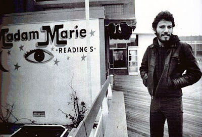 Bruce in the early days hangin' in Asbury Park
