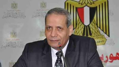 هلال الشربينى وزير التعليم
