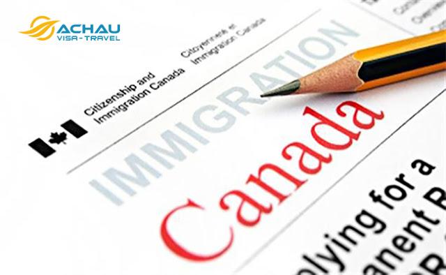 chuẩn bị hồ sơ xin visa Canada