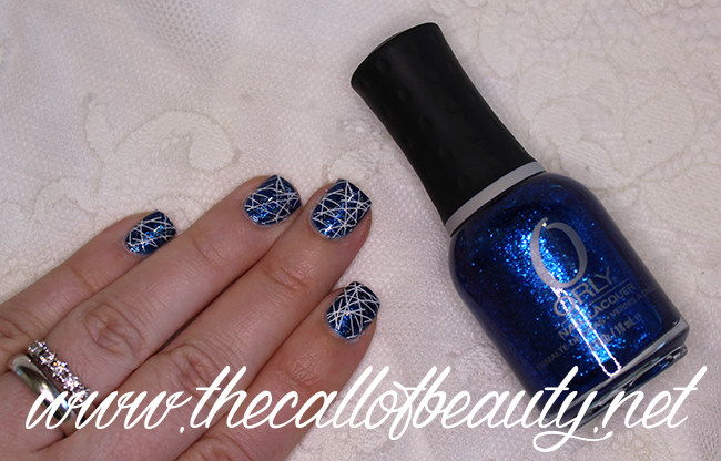 Blue Double Stamping
