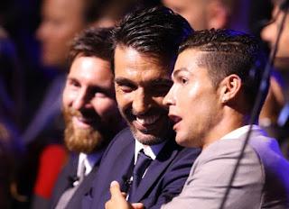 Ronaldo Buat Buffon Tidak Bisa Tidur Nyenyak