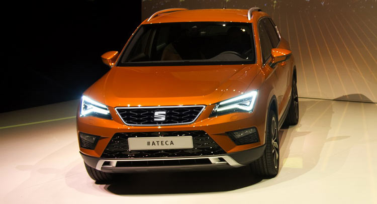 new seat ateca is spanish brand s foray into suvs w video. Black Bedroom Furniture Sets. Home Design Ideas