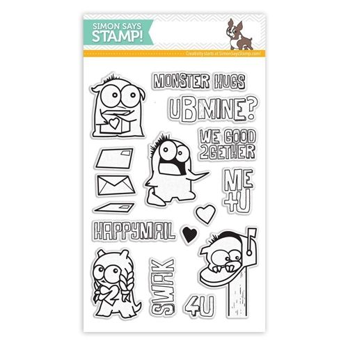 Simon Says Stamp MONSTER HUGS clear stamps