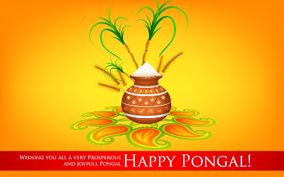 Happy Pongal Images with Wishes