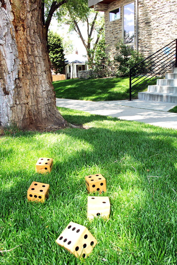 yard dice lawn dice summer outdoor games