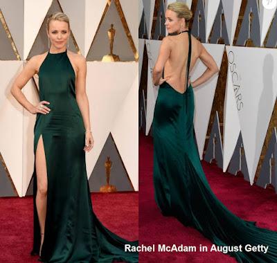 Rachel%2BMcAdams%2Bin%2BAugust%2BGetty - Look Óscares 2016