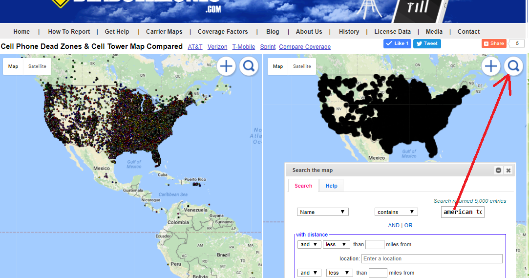 US Cellular Voice And Data Maps Wireless Coverage Maps US Mobile - Us cellular vs verizon coverage map