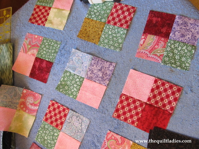 The Quilt Ladies Book Collection Valentine S Red Table Topper Quilt