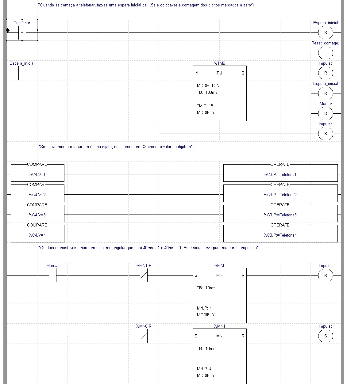 Example Of A Simple Ladder Logic Program