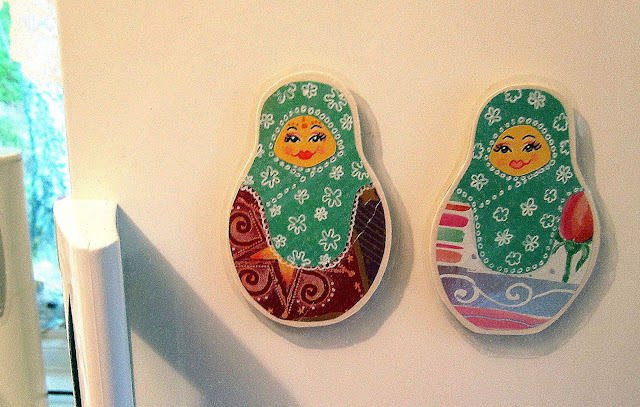 matryoshka doll magnets